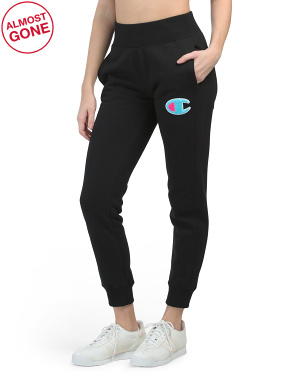 Reverse Weave Chainstitch Logo Joggers