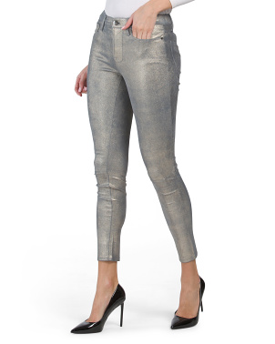 Lamb Leather Le High Skinny Pants