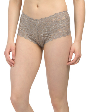 Luxury Moments Stretch Lace Boyshorts