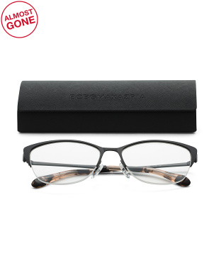 Semi Rim Swept Fashion Reading Glasses