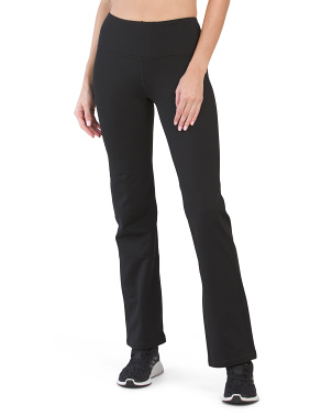 Soft Tech High Rise Straight Leg Pants