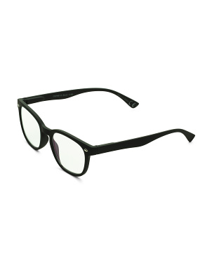 Unisex Square Blue Light Reading Glasses