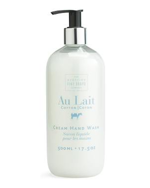 17.5oz Au Lait Cotton Hand Wash