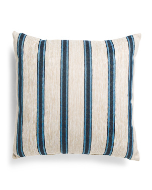 Made In Usa 22x22 Indoor Outdoor Stripe Pillow