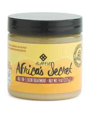4oz Africas Secret All-in-1 Skin Treatment