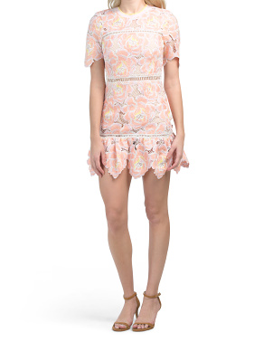 Huntyr Embroidered Dress