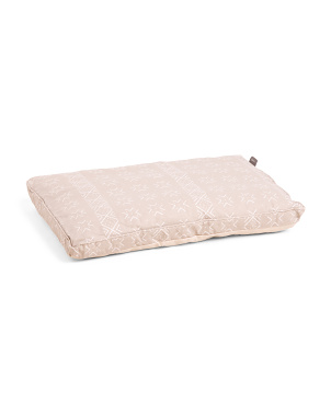 Mud Cloth Orthopedic Memory Foam Crate Mat
