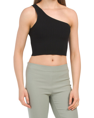 Isla One Shoulder Crop Top