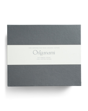 330tc Organic Sateen Sheet Set