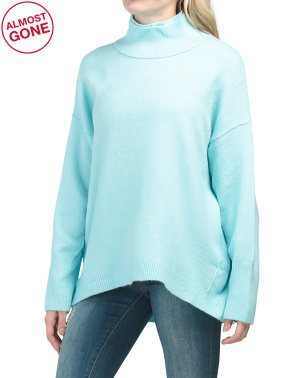 Afterglow Mock Neck Sweater