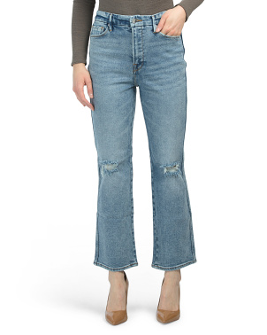 Good Curve High Waist Straight Leg Jeans
