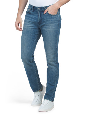 Slim Chipped Jeans