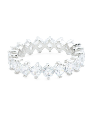 Cz Eternity Band Ring
