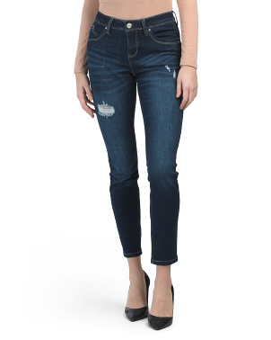 Mid Rise Booty Enhancing Fit Solution Jeans