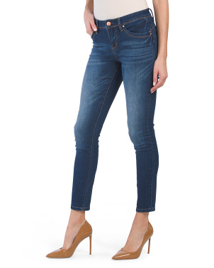 Mid Rise Recycled Fabric Jeans