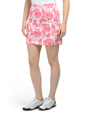Rose Stretch Skort