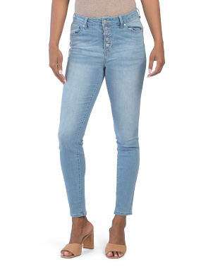 High Waist Recycled Booty Lifting Skinny Jeans