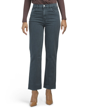 Jules High Rise Straight Leg Jeans