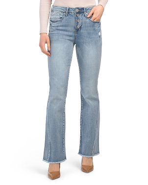 Ultra High Rise Flip Flop Flare Jeans