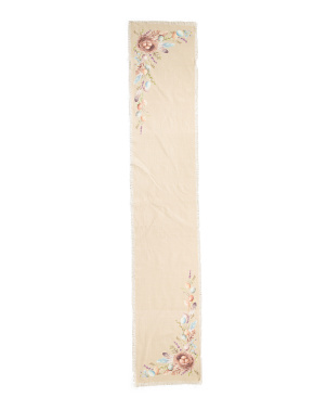 16x90 Egg Nest Border Table Runner