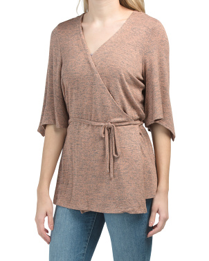 Dolman Sleeve Knit Cardigan