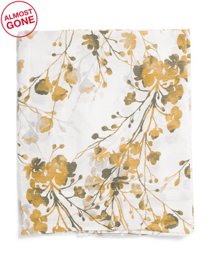 Wide Set Of 2 Lillian Floral Curtains