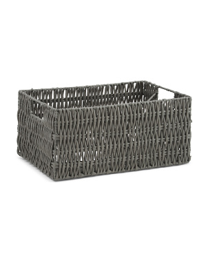 Small Vertical Weave Basket