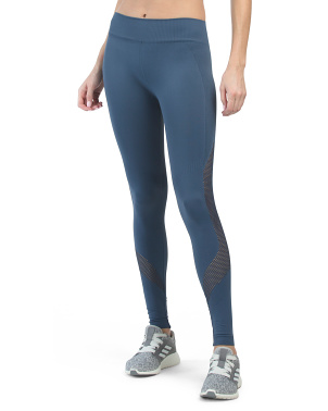 Made In Usa High Waist Network Ankle Leggings