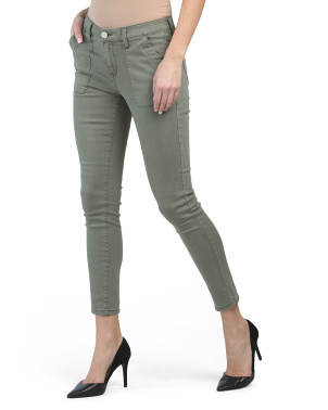 Utility Ankle Slim Jeans