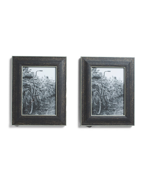 8x10 2pk Bicycle Photo Frames