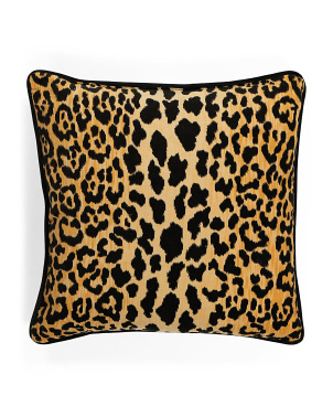 22x22 Animal Pattern Velvet Pillow