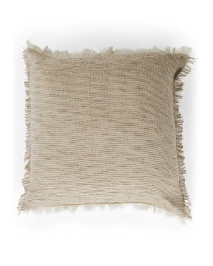 Made In Spain Luxury Wool And Mohair Floor Pillow