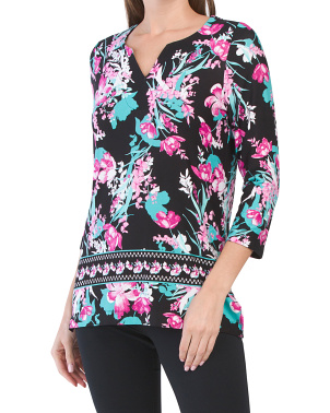 Trisha Floral Knit Top