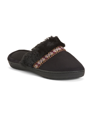 Microsuede Micha Clogs