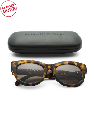 52mm Oval Designer Sunglasses