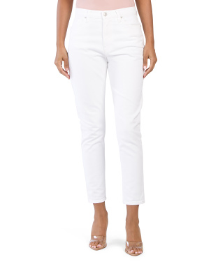 Bettie High Rise Tapered Jeans