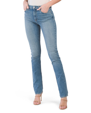 Holly High Rise Straight Leg Jeans
