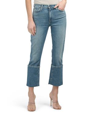 Made In Usa Holly High Rise Straight Leg Jeans