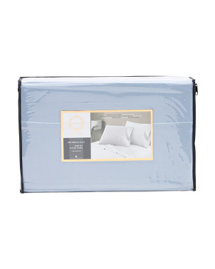 1000tc Cotton Solid Sheet Set