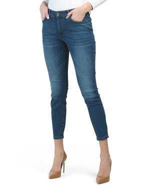 Mid Rise Tummy Tuck Skinny Jeans