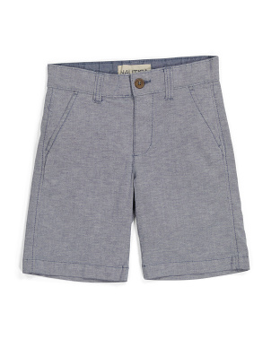 Big Boy Stretch Oxford Shorts