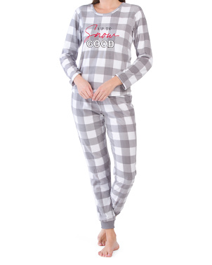 2pc Snuggle Buddied Pj Set
