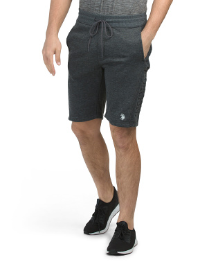 French Terry Embossed Wordmark Shorts