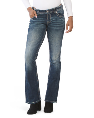 Envelope Pocket Bootcut Jeans
