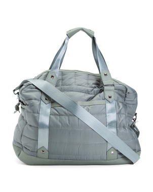 Nylon Channel Quilted Duffel