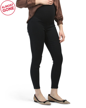 Maternity Over The Belly Butter Skinny Jeans