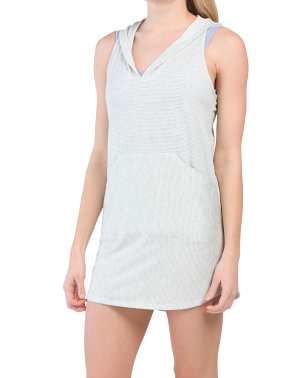 Hooded Beach Dress Cover-up
