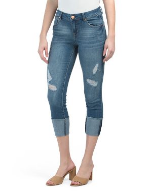 Deep Roll Destructed Jeans