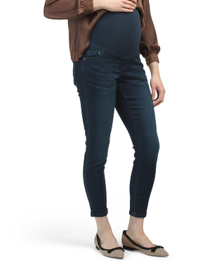 Maternity Over The Belly Slim Maker Ankle Skinny Jeans