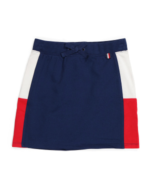 Big Girls Color Block Skirt
